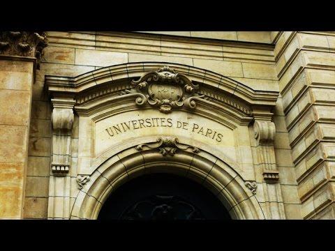 France - Paris - Sorbonne et Saint Michel
