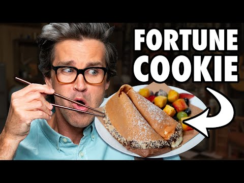 Giant Fortune Cookie Taste Test
