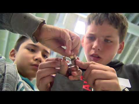 Olive View Elementary School puts together Prosthetic Hands for Needy Amputees in the Third World