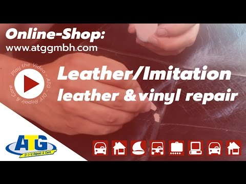 Leather Leatherette and Vinyl Repair Kit DIY