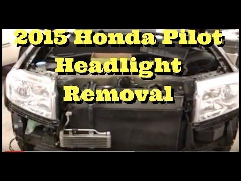 2009 2010 2011 2012 2013 2014 2015 HONDA PILOT How To Remove Replace Install Headlight