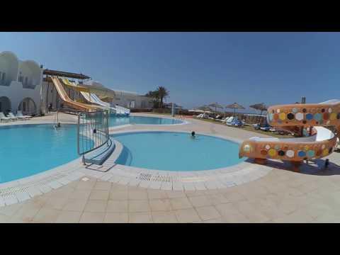 Тур по отелю.Тунис, о. Джерба, отель Менинкс (Hotel club Meninx 3*) июль 2016 г..