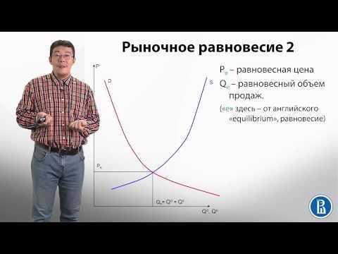 2.3 Рыночное равновесие