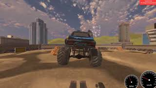 Monster Truck Drive Gameplay (PC game)