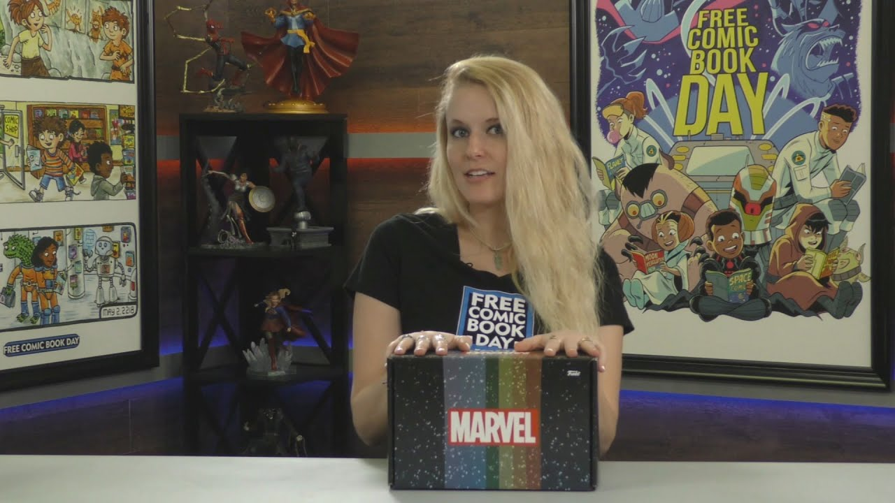 Funko's PREVIEWS Exclusive Free Comic Book Summer Marvel Mystery Box Revealed