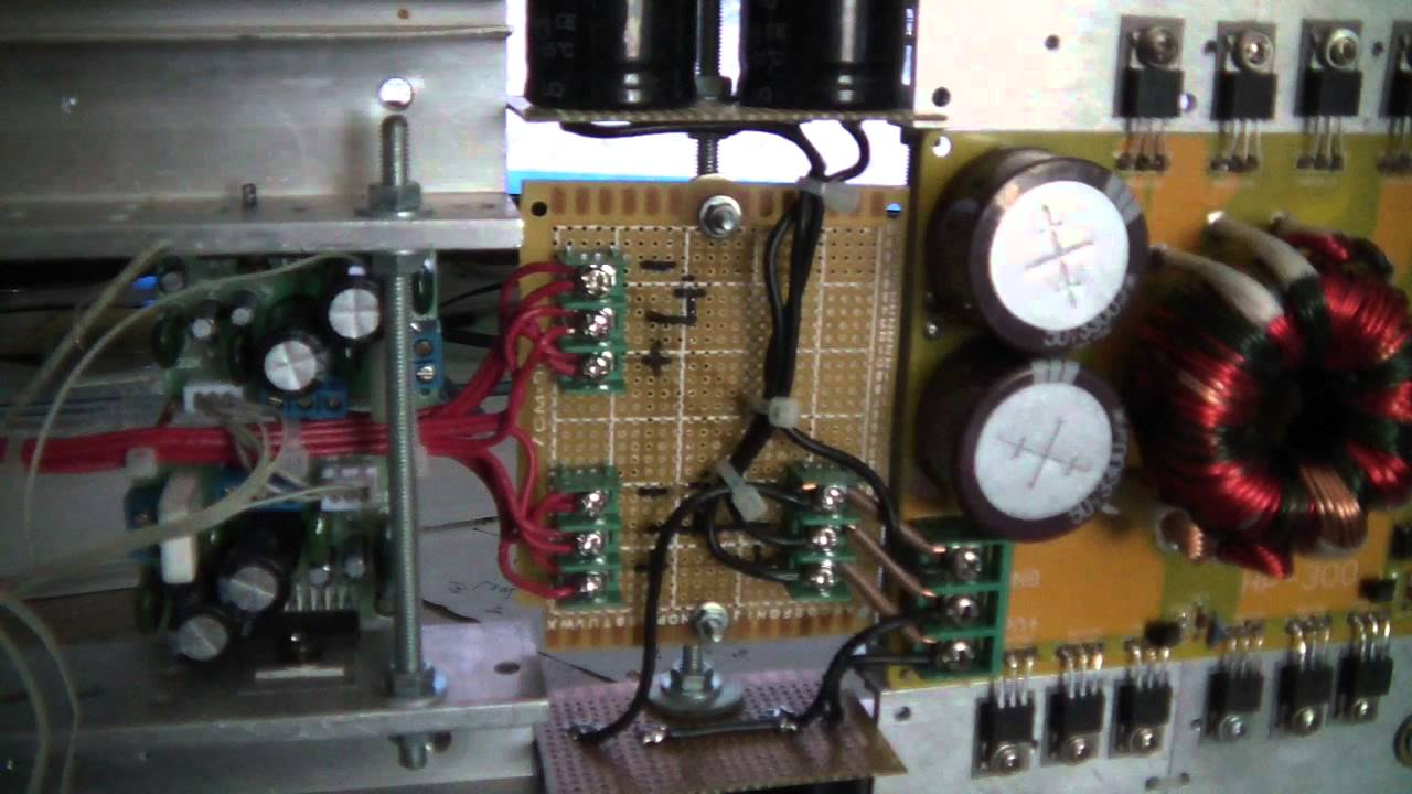home cable tv wiring diagram western golf cart 42 volt diy 4ch car audio amplifier 500w smps + tda7294 - update youtube