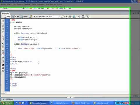 VideoTutorial 2 del Curso de PHP POO