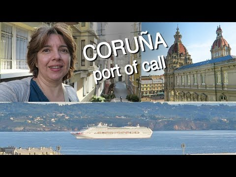 Walking Tour of A Coruña - Port of Call