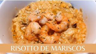Risotto de camarones 🦐 y mariscos!!! Receta DELICIOSA y FÁCIL! ✅✅✅