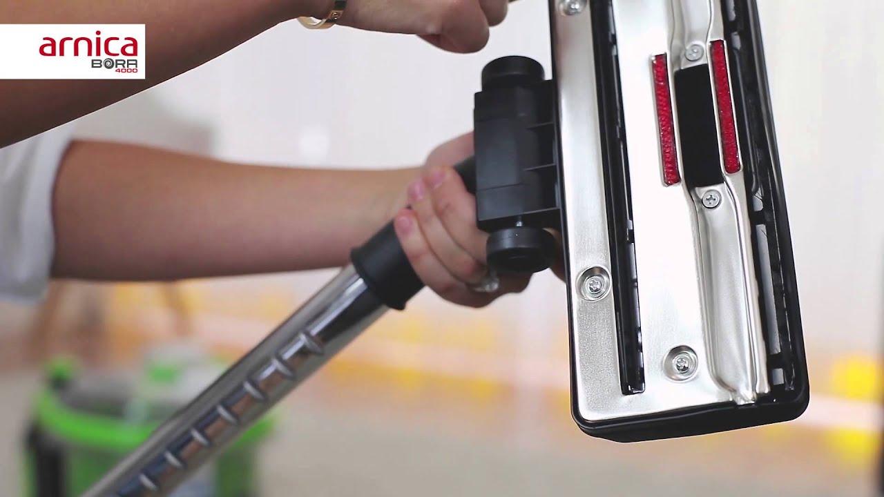 arnica bora 4000 staubsauger mit wasserfilter test video. Black Bedroom Furniture Sets. Home Design Ideas
