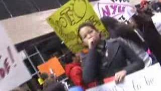 NYU College Republicans Protest Illegal Immigration