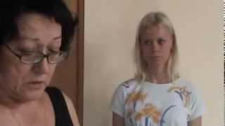 Пробы Жени на роль Любы в сериале