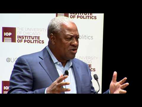 His Excellency John Dramani Mahama