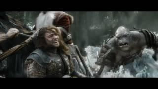 Хоббит: Битва пяти воинств. Сцена на колеснице. Режиссёрская версия