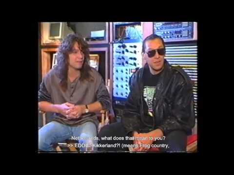 eddie and alex van halen speaking their native language dutch