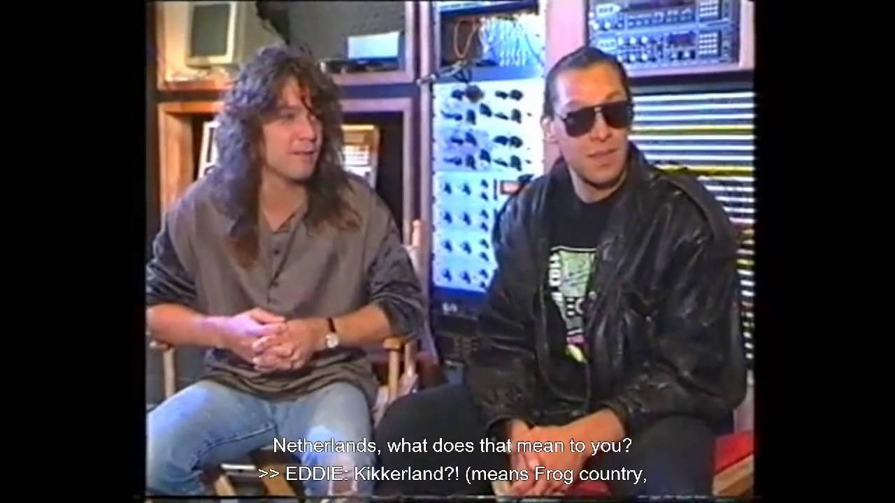 Amerindos Eddie And Alex Van Halen Indo Dutch Rockers