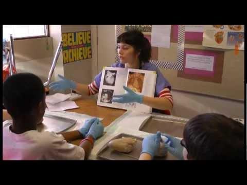Spokane medical students at Sheridan Elementary School