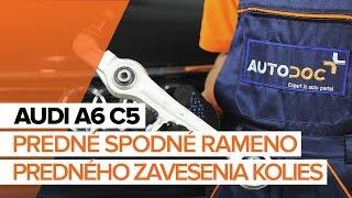 Ako vymeniť predné spodné rameno predného zavesenia kolies na AUDI A6 C5 [NÁVOD]