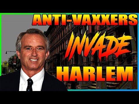Antivaxers Invade Harlem
