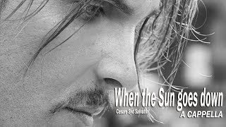 Cesare Syd Salvatori - When the Sun goes down (A Cappella) • 1080p HD • Only Vocals