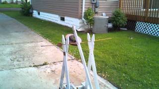 Mark Vii White Picket Trebuchet - Video 1