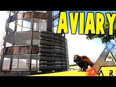 Ark Survival Evolved - EPIC NEW AVIARY, JURASSIC PARK - (EP9 Ark Modded)