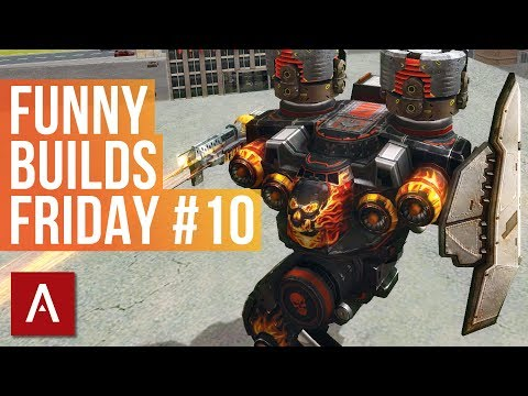 War Robots: FUNNY BUILDS FRIDAY #10 | live stream