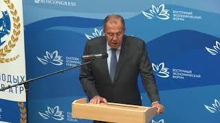 Выступление С.Лаврова на встрече Диалога молодых дипломатов АТР