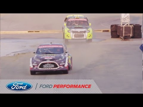 Ford Fiesta at New Hampshire: Round Four | Red Bull Global Rallycross | Ford Performance