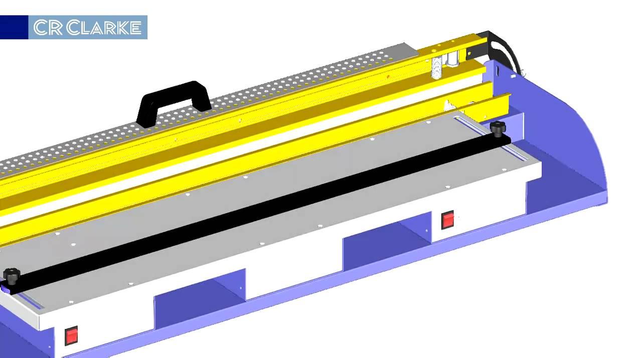 Strip heaters acrylic sheet