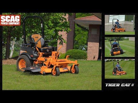 Scag Tiger Cat II Zero-Turn Rider - Scag Power Equipment