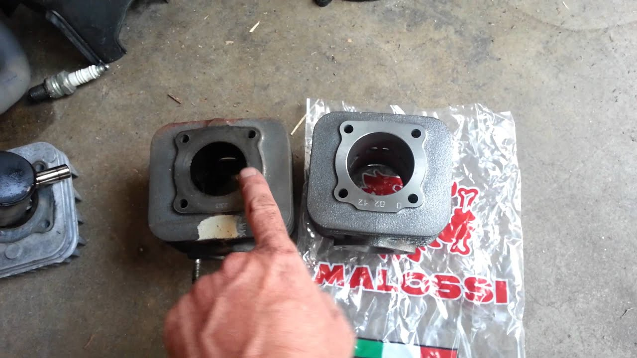 Vespa Et2 Vespa Et2 70cc Malossi Cylinder Kit Difference From 50cc