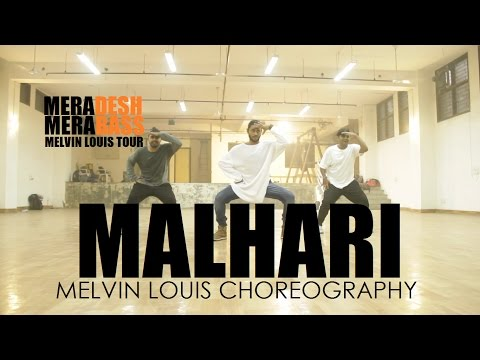 Malhari || Melvin Louis Choreography || Bajirao Mastani