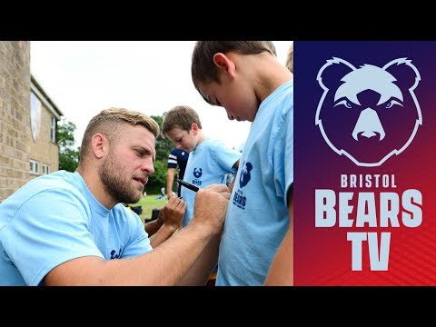 Video: International stars visit Community Foundation camp