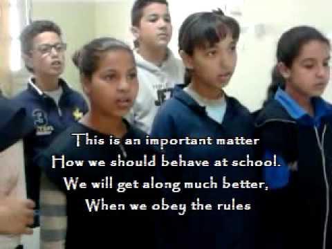 The School Rule Song 7b5