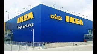 IKEA 1ST DAY HYDERABAD CREATED IN THE HISTORY OF IKEA 10 LAC + VISITED