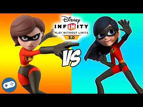 Mrs Incredible VS Violet Disney Infinity 3.0 Toy Box The Incredibles Versus Fight