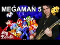 MEGAMAN 5 Dr Wily Stage Metal Guitar Cover By Ferdk mp3