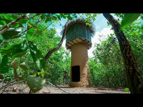 Jungle Survival: Build The Most Beautiful Ancient Tower House in Deep Jungle
