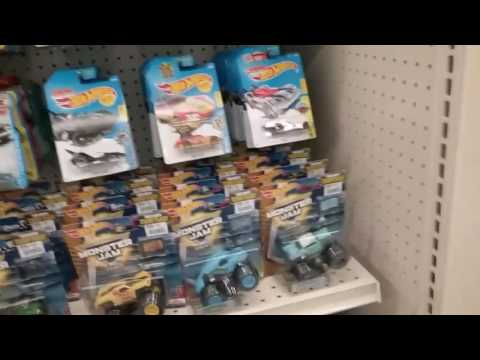 In Store Diecast at Big Lots- SUPER! Fresh stock including Hot Wheels, Matchbox, and Monster Jam!