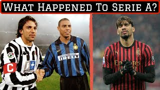 The Rise and Fall of Serie A: What Went Wrong?