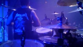 Michael Vafiotis - I Will Not Bow (Drum Cam)
