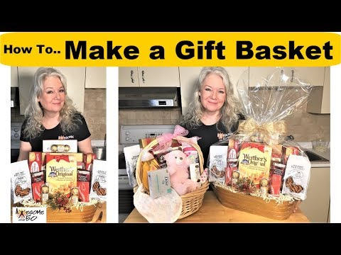 Cheapest way to make gift basket for christmas bows