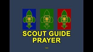 Scout Guide Prayer