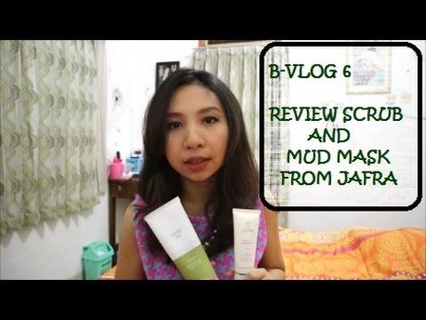 B Vlog 6 Review Scrub and Mud Mask Jafra