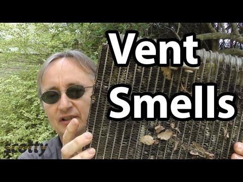 Removing Car Vent Smells