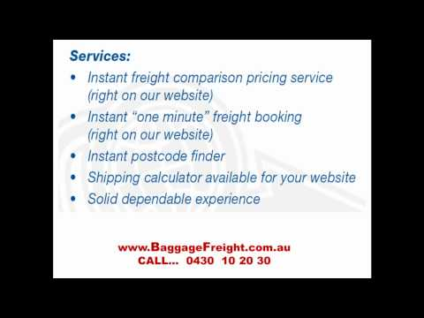 online freight services