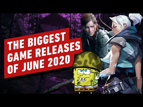 The Biggest Game Releases of June 2020