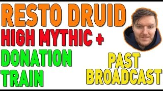 🔴 MYTHIC + 21 LOWER KARAZHAN  [917 RESTO DRUID] - New Video Out