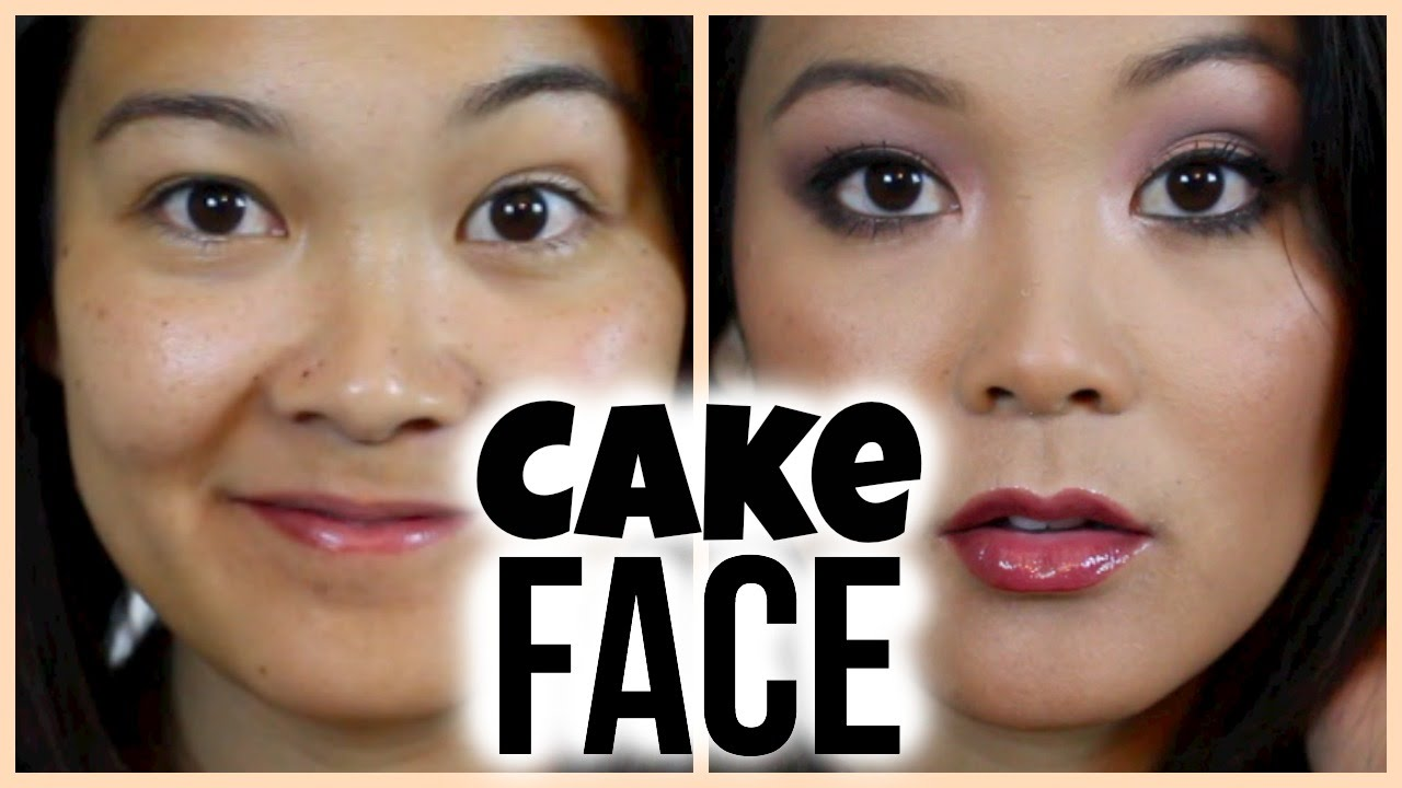 Images Cake In Face : Cake Face Makeup Tutorial ?? - YouTube